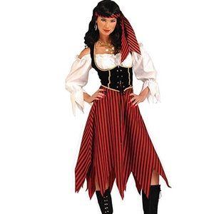 Women's Pirate Maiden Costume medium